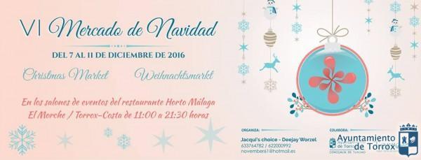 Programa del Mercado de Navidad en Torrox