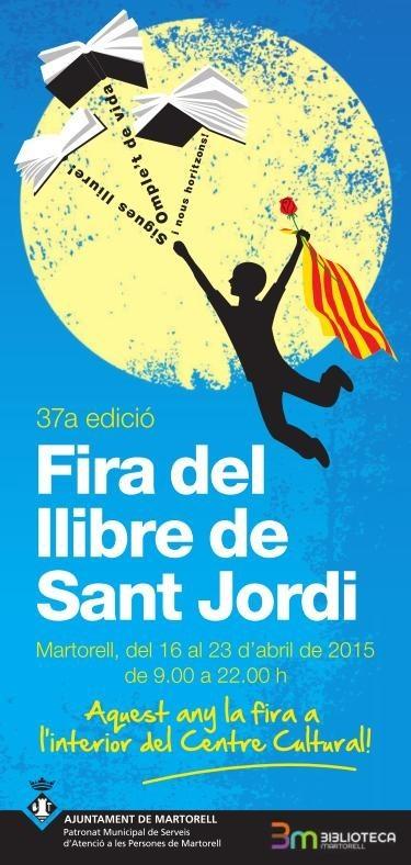 Programa de la Fira de Sant Jordi en Martorell