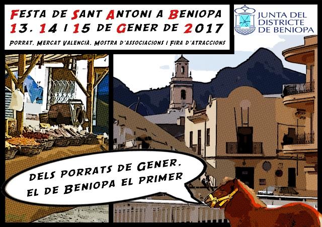 Programa de Sant Antoni en Gandia