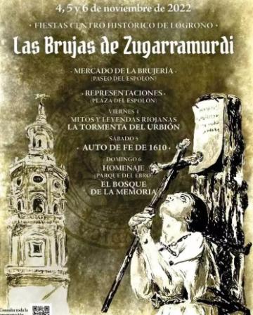 Las Brujas de Zugarramurdi en Logroño: programa del mercado barroco y quema de brujas