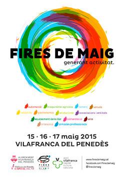 Programa de las Fires de Maig en Vilafranca de Penedes