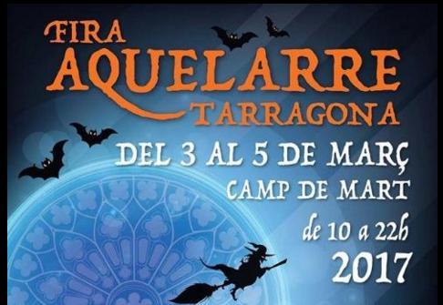 Programa de la Fira Aquelarre en Tarragona