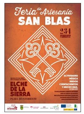 Programa de San Blas y Mercado Medieval en Elche de la Sierra