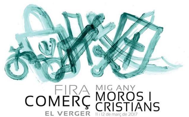 Programa de la Fira mig any moros y cristianos en El Verger