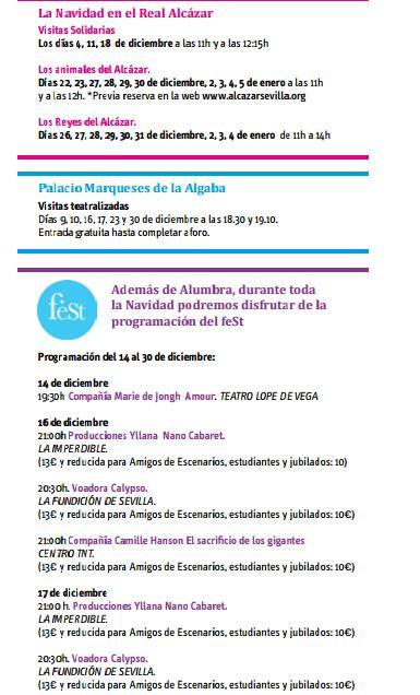 Programa Navidad en Sevilla