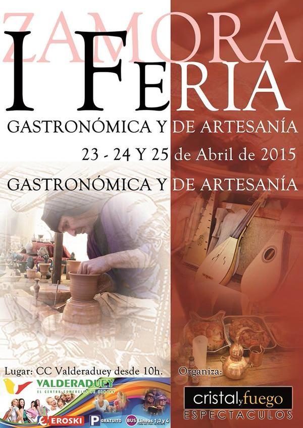 Feria Gastronómica y de artesanía en Zamora