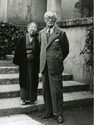 羽仁吉一・もと子夫妻
