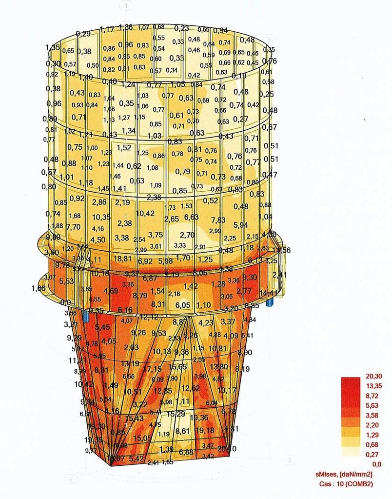 Calcul silo laitier 430 tonnes - FRANCE