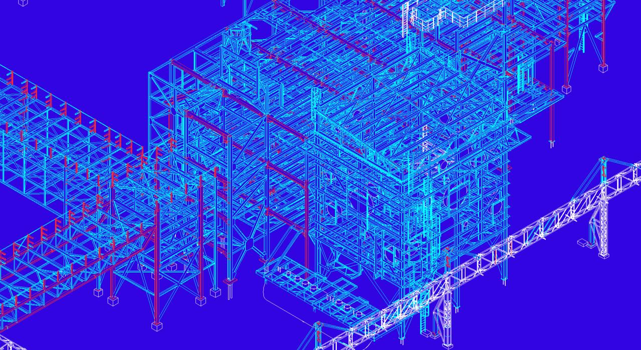 Modélisation zoom Bâtiment process usine agro-alimentaire - FRANCE
