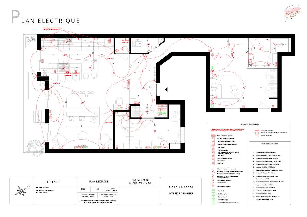 Architecture d'intérieur sur mesure par Flora Boscher à Toulon