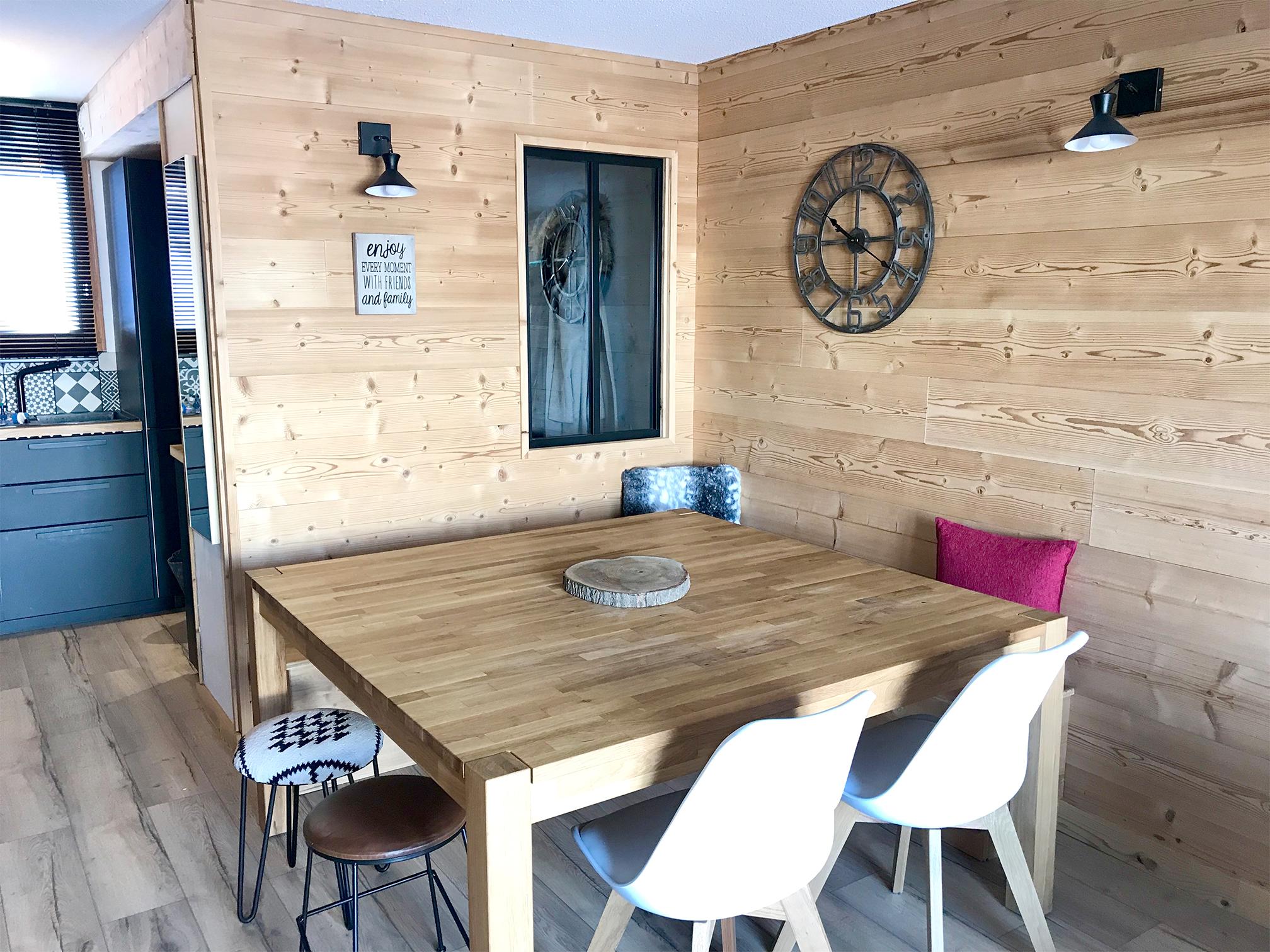 Rénovation chalet par Flora Boscher   Architecte d'intérieur