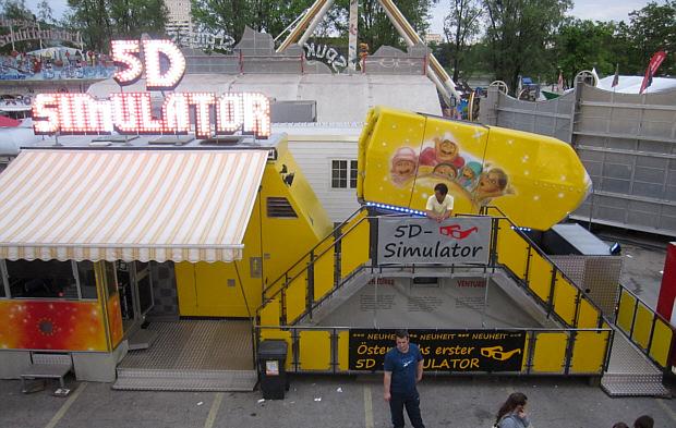 Erster 5D-Simulator Österreichs