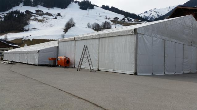 Aufbau Grossarl Lady Ski Woche