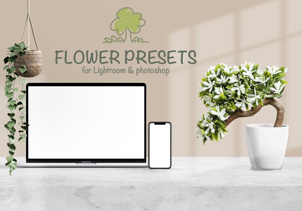 Blumen- und Pflanzenfotos bearbeiten für Gärtnerei, Gartencenter, Florist mit Lightroom und photoshop presets