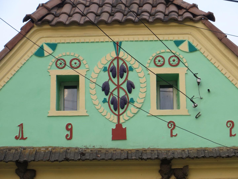 Typisches Sachsenhaus in Siebenbürgen