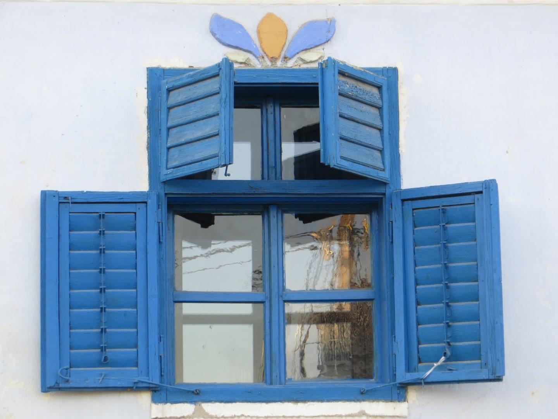 Typisch siebenbürgische Fensterläden