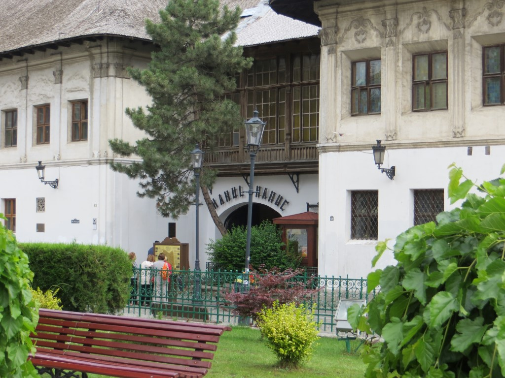 Eingang Hanu lui Manuc (ehemalige Karawanserei)