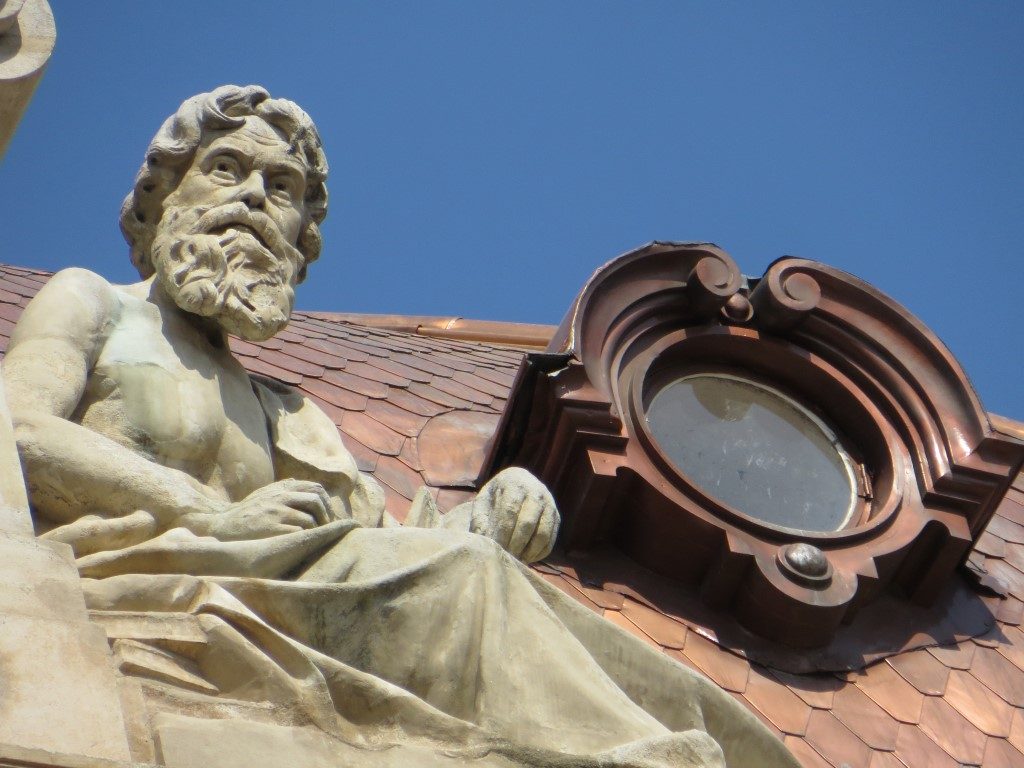 Dach-Detail