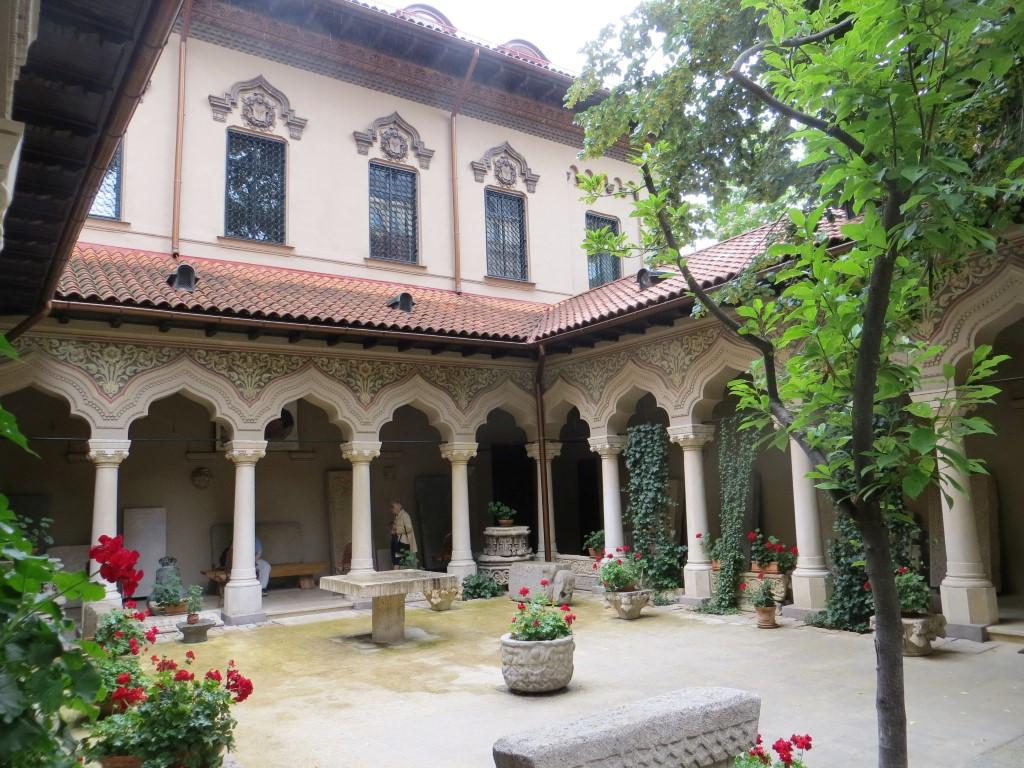 Innenhof des Stavropoleus