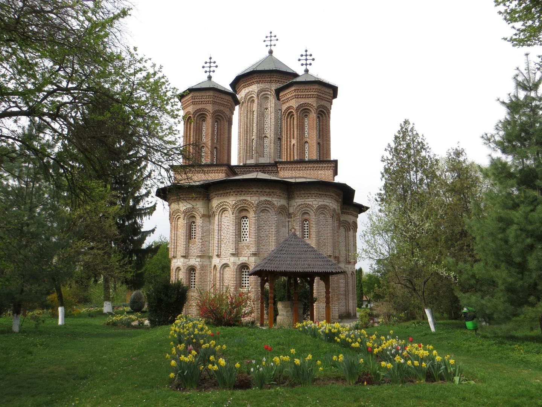 Kirche auf der Klosterinsel Snagov