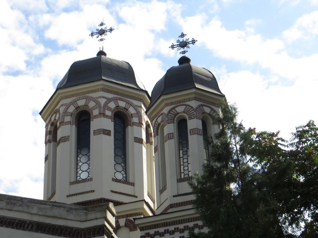 Rumänisch-orthodoxe Kirchtürme