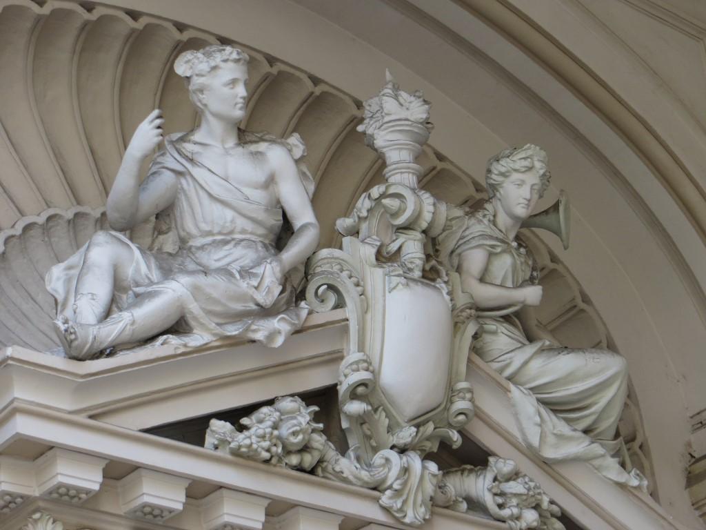 Gebäude-Detail