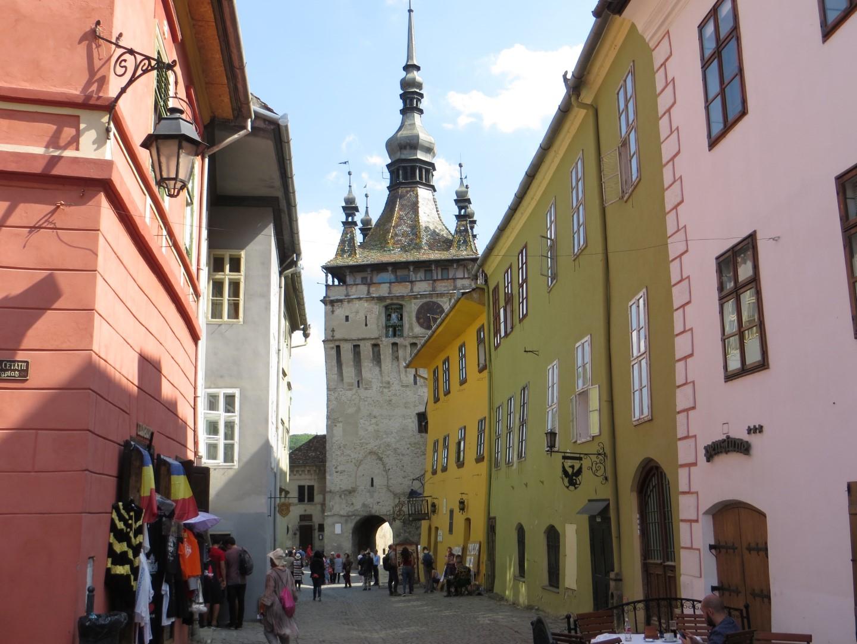 Der Stundturm oder auch: Turnul cu ceas (Turm mit Uhr)