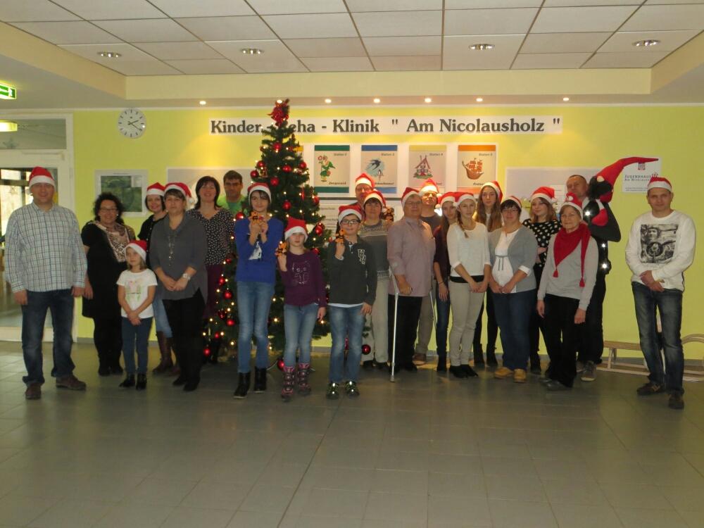 Weihnachtsfeier in Kinderrehaklinik Bad Kösen