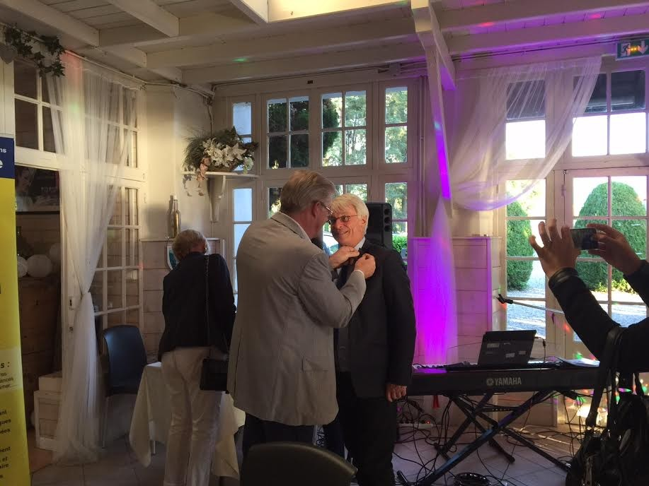 Jean-Luc Delay et André Bergerat (Nouveau Président)