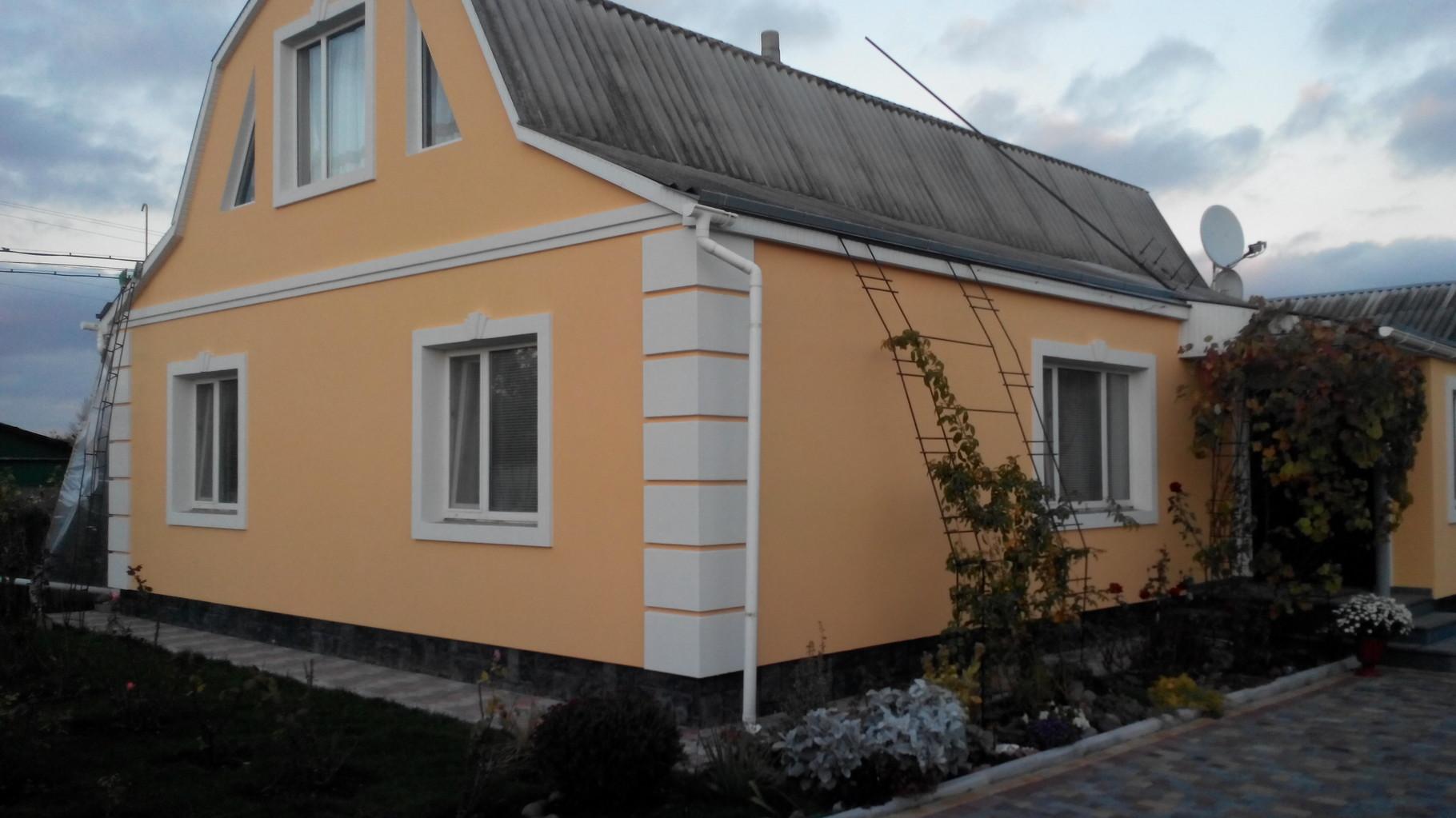 результат выполнения фасадных работ
