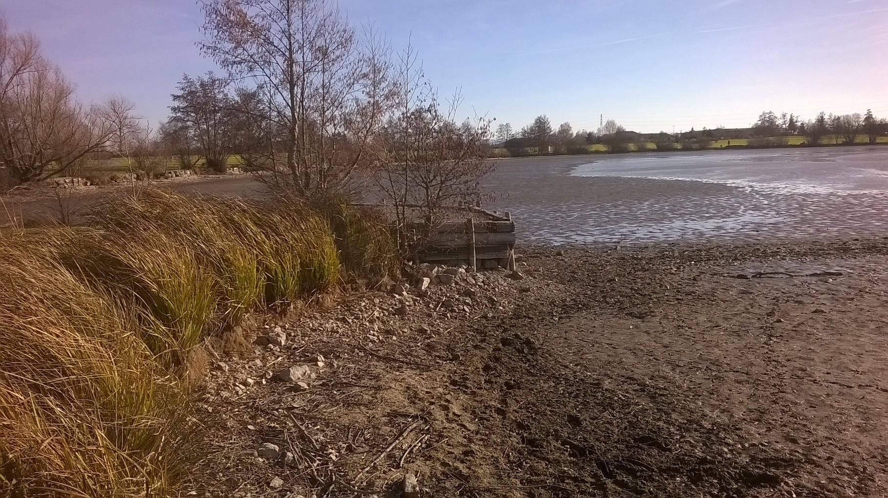grand étang assèché 2015