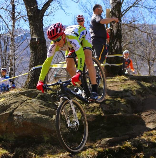 28.03.2015 Streckenbesichtigung Eröffnungsrennen Monte Tamaro, Léon Koller
