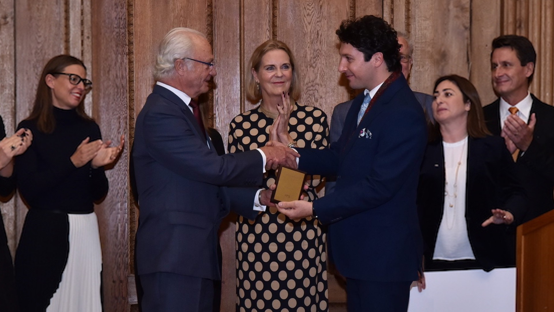 Awarded the royal entrepreneurial prize by the King of Sweden. Read the full story here!