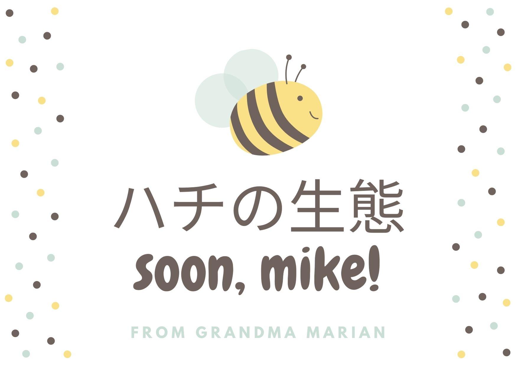 ハチの生態