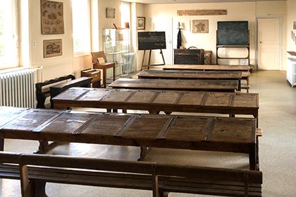 la salle de classe de 1880