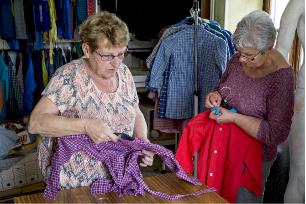 Tri, entretien et rangement des blouses
