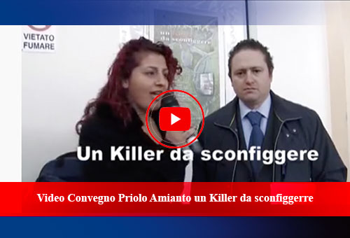 Video Convegno Priolo Amianto un Killer da sconfiggerre
