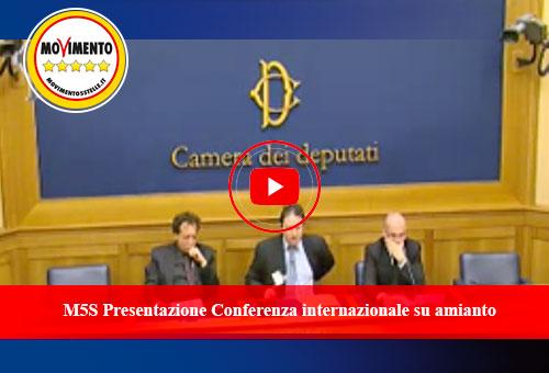 Conferenza internazionale amianto M5S