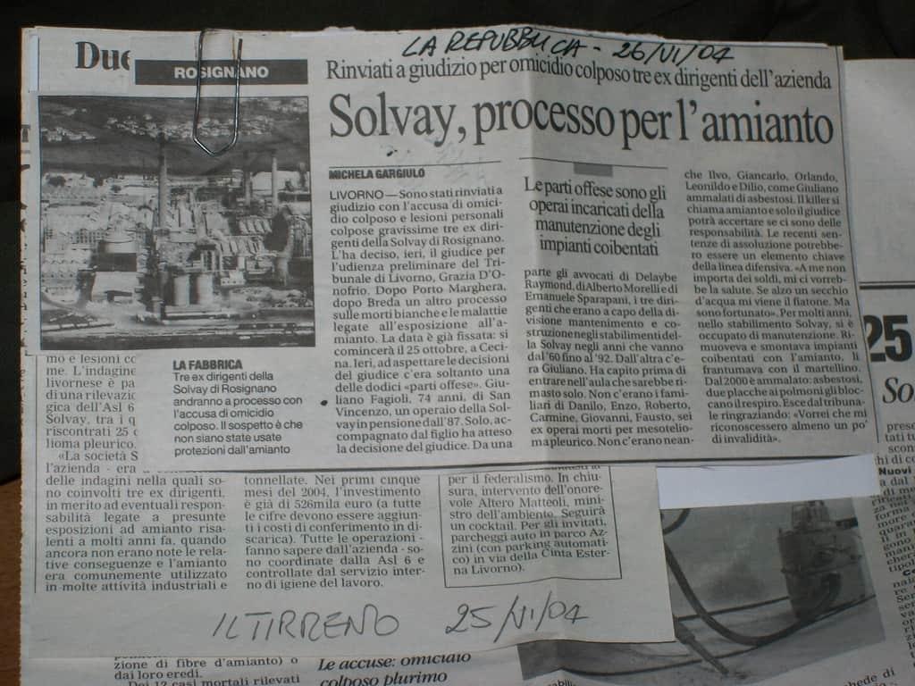 ONA Rosignano Solvay
