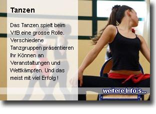 Tanzen beim VfB Randegg