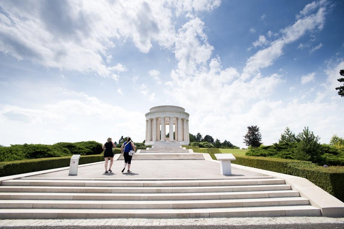 mémorial américain sur la butte du montsec