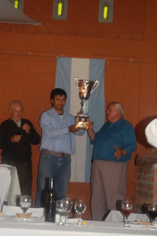 Carlitos Pavon ganador del Obelisco