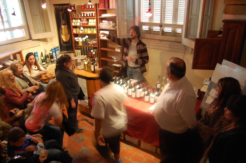 Catacion de vinos y aceites de oliva