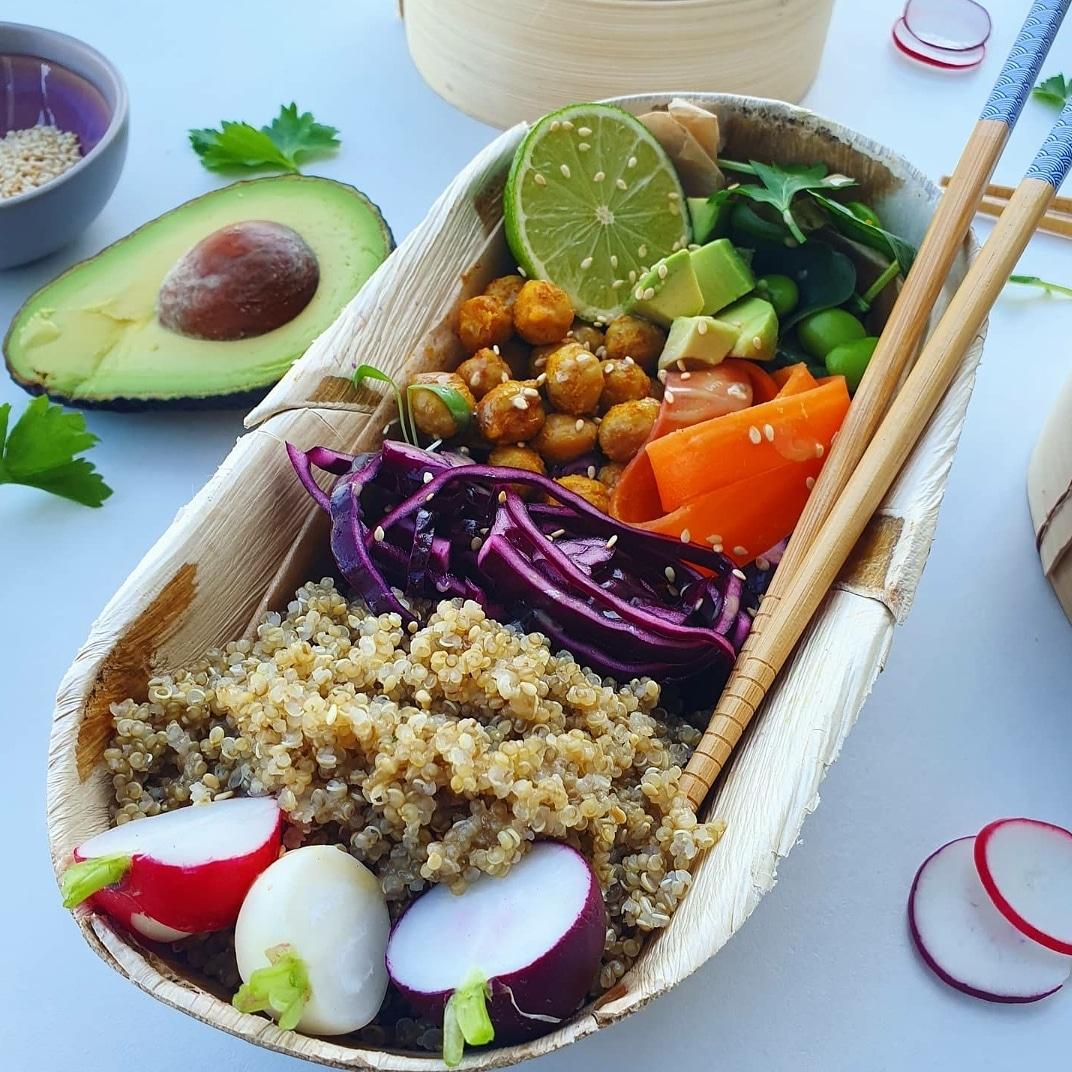 Quinoa power bowl!