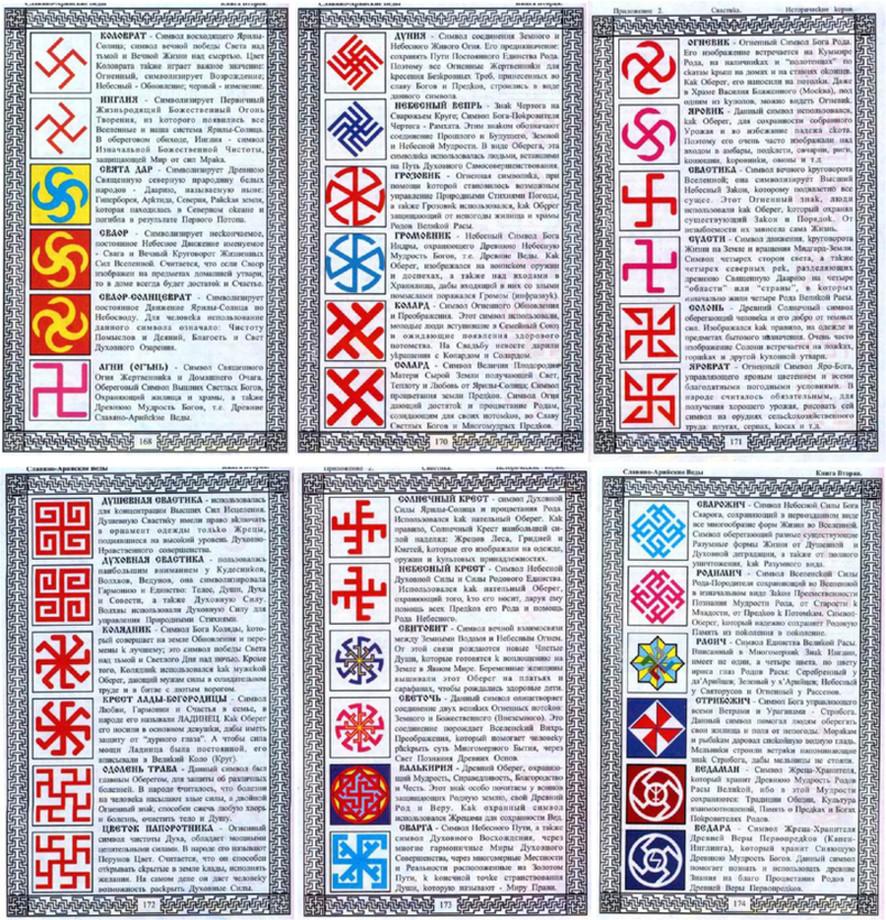 славянские символы значение