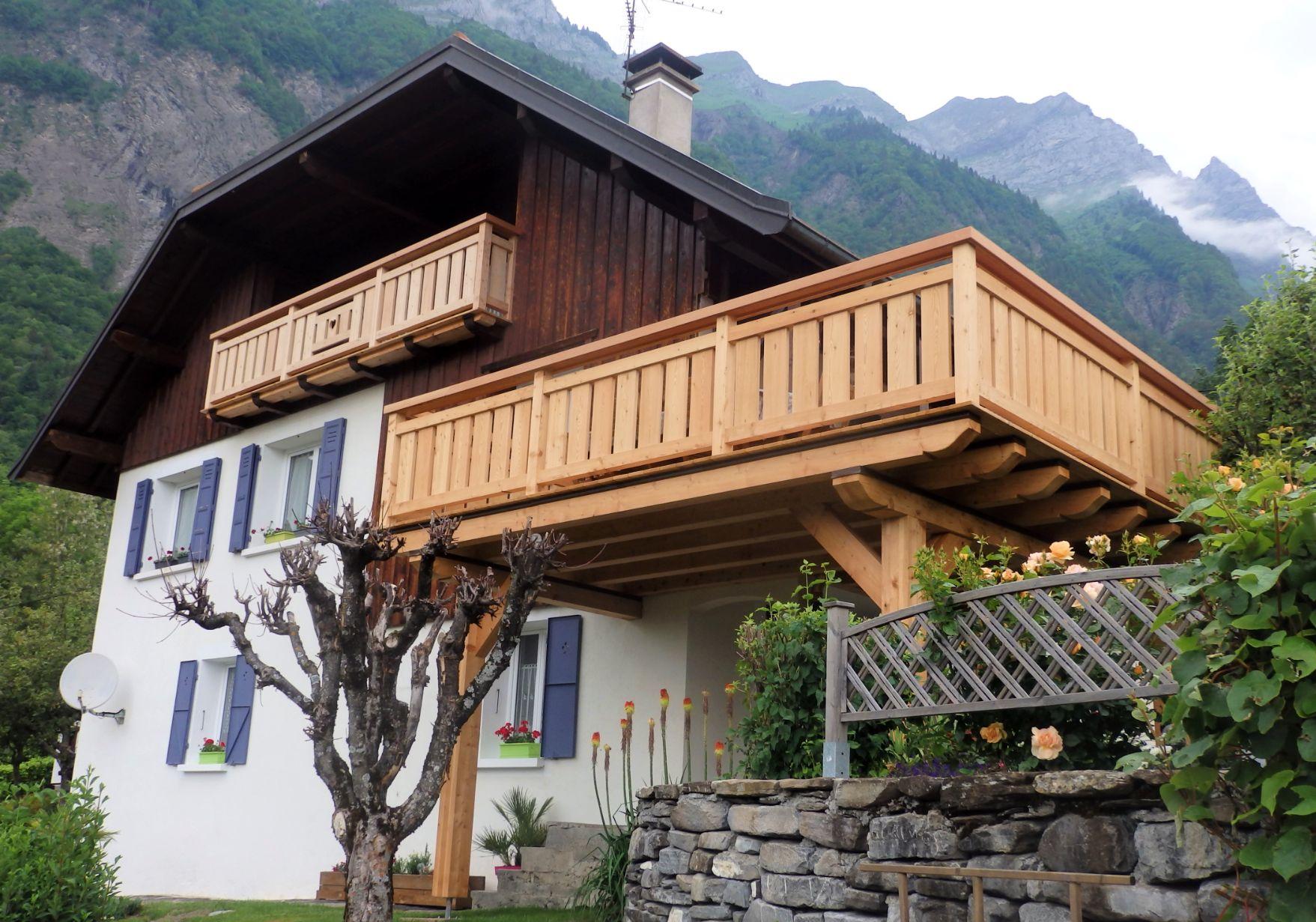 Terrasse et balcon à Ugine (73)