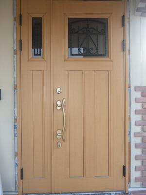 もともとの玄関ドア
