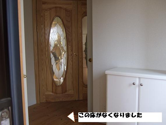 改装前、玄関
