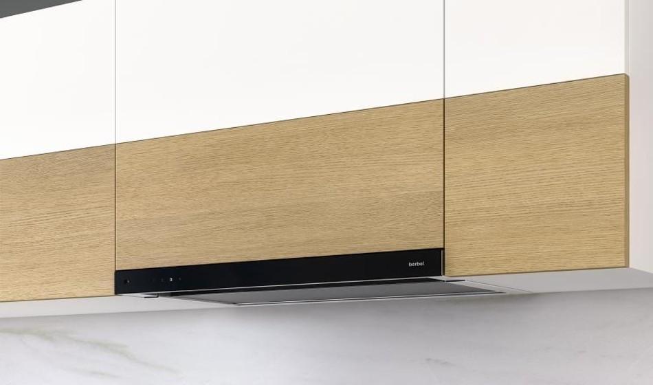 berbel einbauhaube glassline beh 90 90 cm breite design. Black Bedroom Furniture Sets. Home Design Ideas