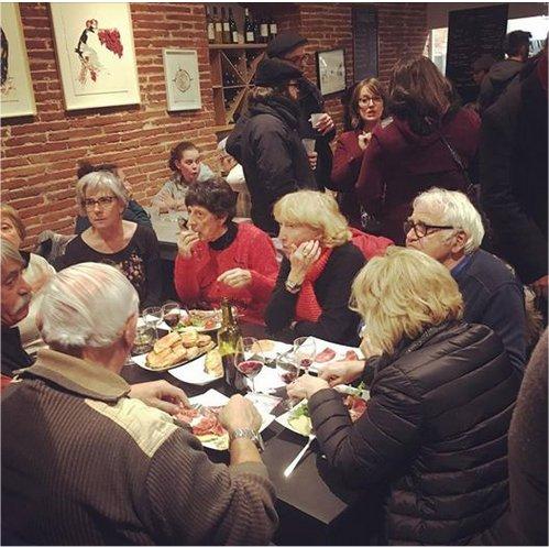 Inauguration de la Topina : la table des cantaires